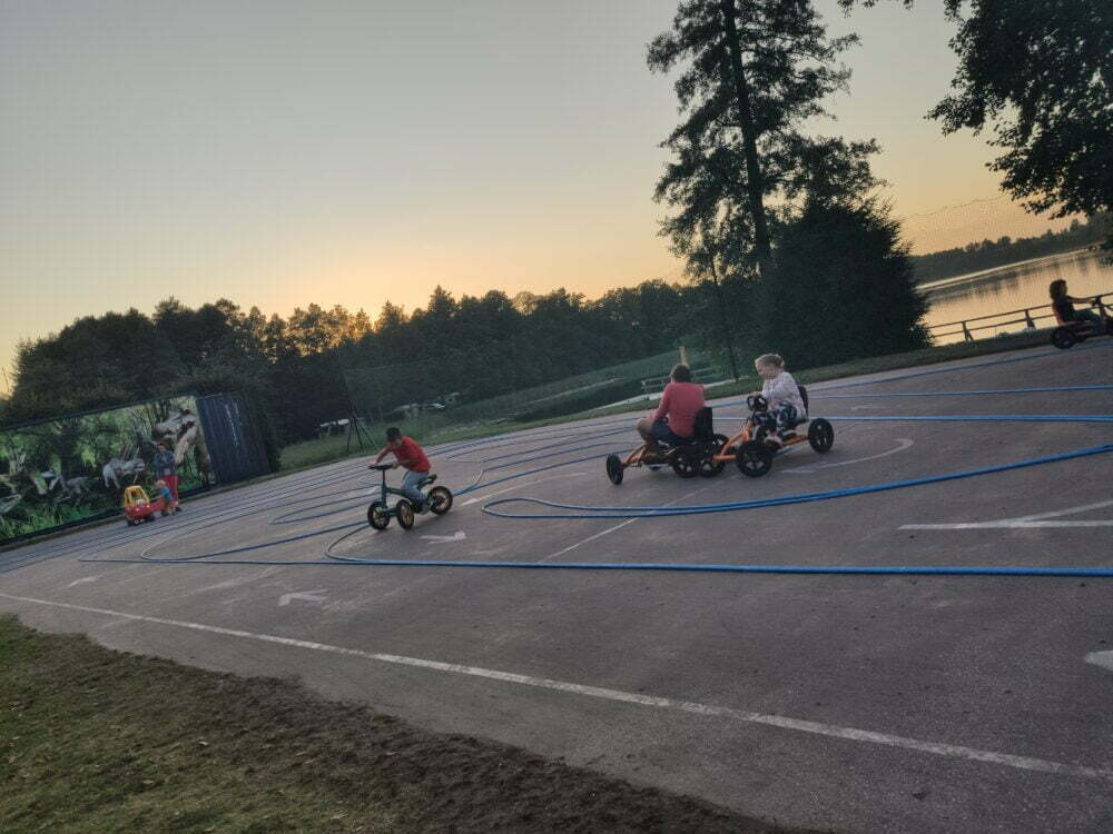 Tricycles and Camping Tumiany circuit
