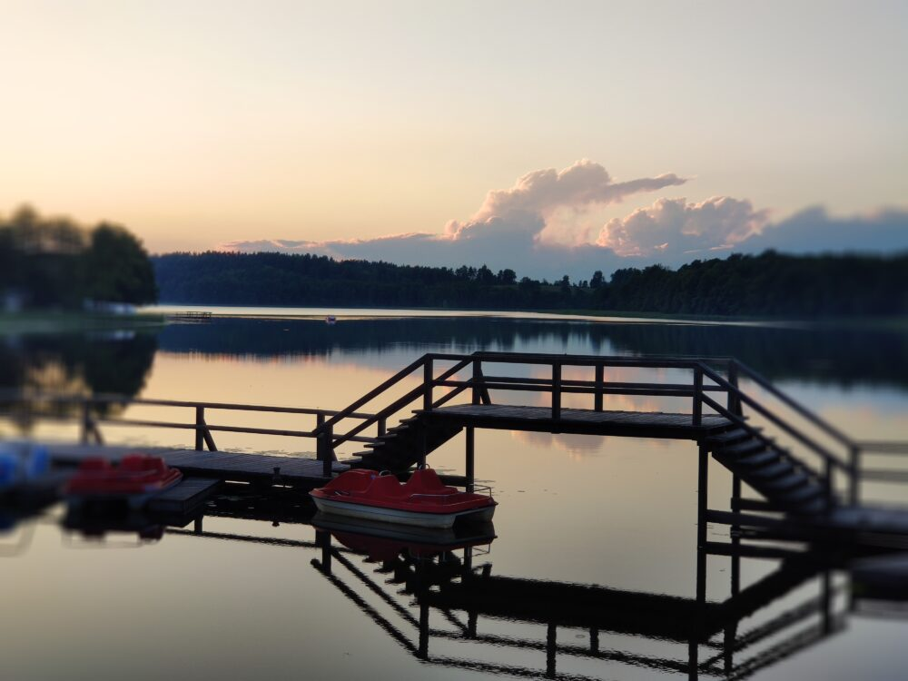 Lake of Camping Tumiany