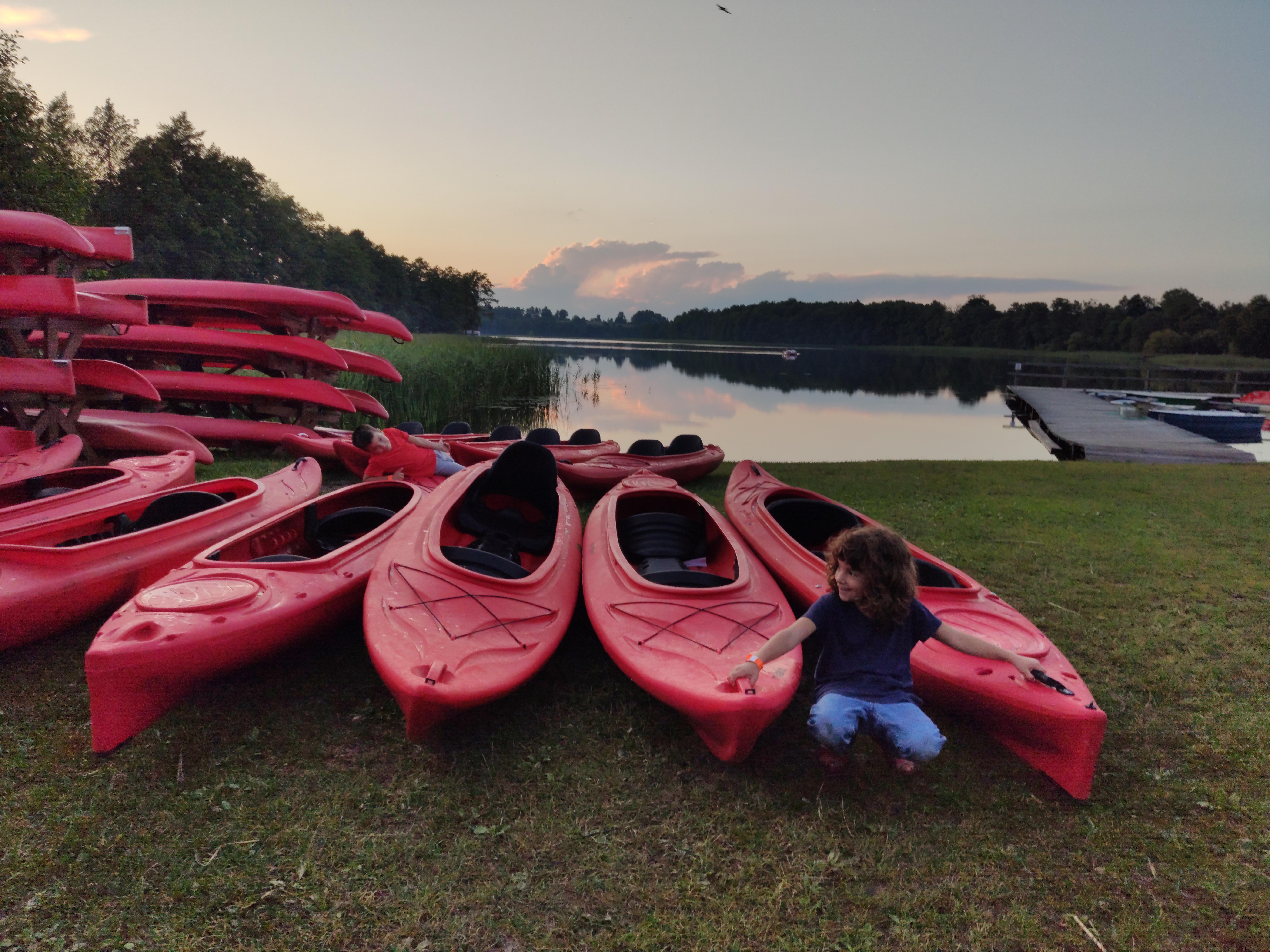 Kayak rental Camping Tumiany